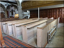 TQ1667 : Inside St Nicholas, Thames Ditton (D) by Basher Eyre