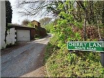 SO8891 : Cherry Lane  by Gordon Griffiths