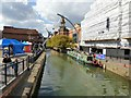 SK9771 : River Witham by Gerald England