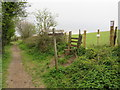 TQ2913 : Bridleway and footpath near Pyecombe by Malc McDonald