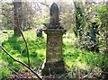 TG2408 : Monument on the Howlett Family burial plot by Evelyn Simak