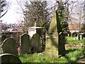 TG2408 : Monument on the Durrant Family burial plot by Evelyn Simak