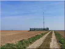 TA0114 : Reservoir and communications mast by Chris Morgan