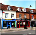 SU4666 : Two takeaways, Bartholomew Street, Newbury by Jaggery