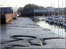 SH5638 : Porthmadog Harbour Low Water by Arthur C Harris