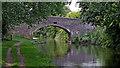 SJ9823 : Swivel Bridge west of Great Haywood in Staffordshire by Roger  Kidd