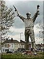 SK0405 : 'Jigger' the Brownhills Miner by Graham Hogg