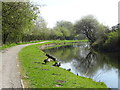SD7230 : Bend in the Leeds and Liverpool Canal, Rishton by JThomas