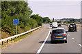 ST3237 : Northbound M5 near Bridgwater by David Dixon