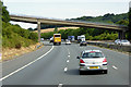 ST3857 : Northbound M5, Banwell Road Bridge by David Dixon