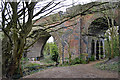 SP3677 : 1838 railway viaduct over the River Sowe, Willenhall, southeast Coventry by Robin Stott