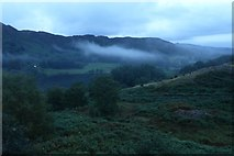 NY3404 : Low cloud by Little Loughrigg by DS Pugh