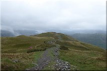 NY3507 : The descent from Heron Pike by DS Pugh