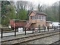 SO7483 : Highley Signal Box by Graham Hogg