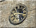 TQ5354 : St Nicholas Church Clock in Sevenoaks by John P Reeves