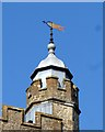 TQ5354 : St Nicholas Church Weather Vane in Sevenoaks by John P Reeves