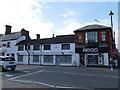SJ7560 : Shops on Congleton Road opposite the market hall by Stephen Craven