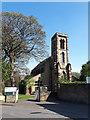 SE1925 : St John's Cleckheaton - tower by Stephen Craven