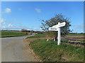 TA1647 : Signpost near Seaton by Des Blenkinsopp