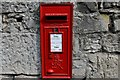 SJ1258 : Ruthin: George VI letter box in Castle Street by Michael Garlick