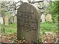 TG2408 : The grave of William Jabez and Ann Elizabeth Algar by Evelyn Simak