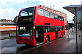 ST3088 : Red double-decker bus, Queensway, Newport by Jaggery
