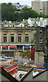 SX9263 : Torquay: Torwood Street across the building site by Derek Harper