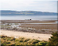NH7757 : Wreck lying off the shoreline at Fort George by valenta
