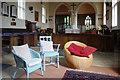 SU4596 : Inside Marcham Church by Des Blenkinsopp
