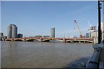 TQ3078 : Vauxhall Bridge by Robin Webster