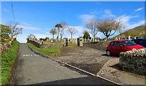 NO4203 : Largo and Newburn Parish Church cemetery by Bill Kasman