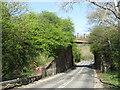 NZ3953 : Bridge over Tunstall Hope Road by Malc McDonald