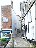 SX4854 : New Street, The Barbican, Plymouth by David Hallam-Jones