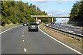 NO1021 : Bridge over the M90 near St Magdalene's Hill by David Dixon