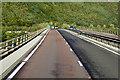 NO1321 : M90 Crossing the River Tay at Friarton Bridge by David Dixon