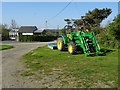 SW7923 : A John Deere tractor by Philip Halling