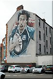 NS5566 : #2014 rugby sevens mural by Richard Sutcliffe