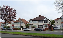 SJ3595 : Houses on Southport Road by JThomas