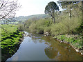 SD9946 : River Aire downstream from Mill Bridge, Cononley by Stephen Craven