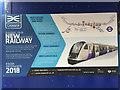 TQ3481 : Crossrail information at Whitechapel station, east London –general by Robin Stott