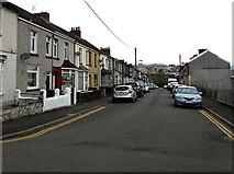 ST1599 : Eastview Terrace, Bargoed by Jaggery