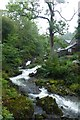 NY3606 : Rydal Falls by DS Pugh