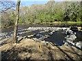 NZ0851 : Rockpool fish pass at Shotley Grove by Robert Graham