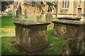 ST4316 : Monuments, South Petherton by Derek Harper