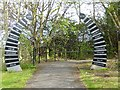 NT3570 : Gateway to Pencaitland Railway Path by Oliver Dixon