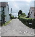 SO3204 : Along Plough Road, Penperlleni by Jaggery