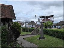 TQ1863 : St Mary, Chessington: churchyard (e) by Basher Eyre