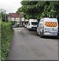 SO3204 : Newport City Homes vehicle, Newtown Road, Penperlleni  by Jaggery