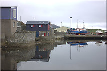 HU4039 : Scalloway harbour by Robert Eva