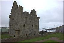 HU4039 : Scalloway castle by Robert Eva